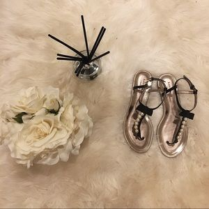 Kate Spade Pearl Flat Sandals.